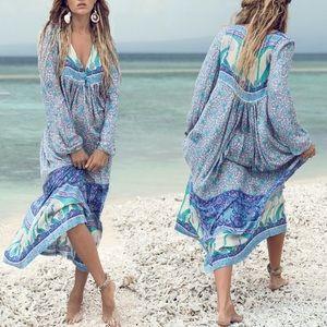 Dresses & Skirts - 🎉Host Pick!🎉 Opal Maxi DRESS Blue Xanada NEW
